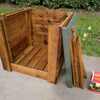 Wooden Compost Bin System