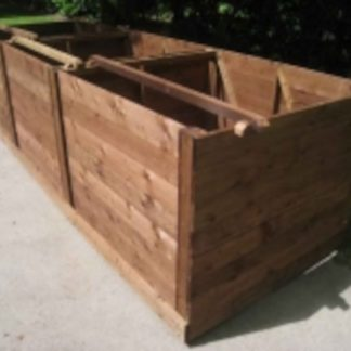 Large Wooden Compost Bin